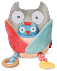 Skip Hop: Treetop Friend Activity Toy - Grey + Pastel