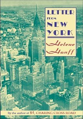 Letter from NY by Helene Hanff image