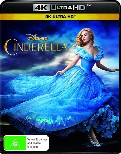 Cinderella on UHD Blu-ray