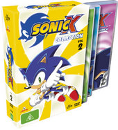Sonic X - Collection: Vol 2 (3 Disc) on DVD