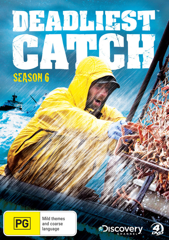 Deadliest Catch - The Complete 6th Season (Discovery Channel) (4 Disc Set) on DVD