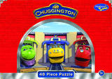Chuggington 48 Piece Jigsaw Puzzle - The Roundhouse