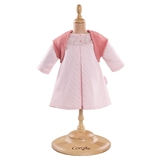 Corolle Mon Premier Collection Pink Dress and Woolen Vest