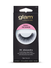 Glam by Manicare - 34. Alessandra Intense Lashes