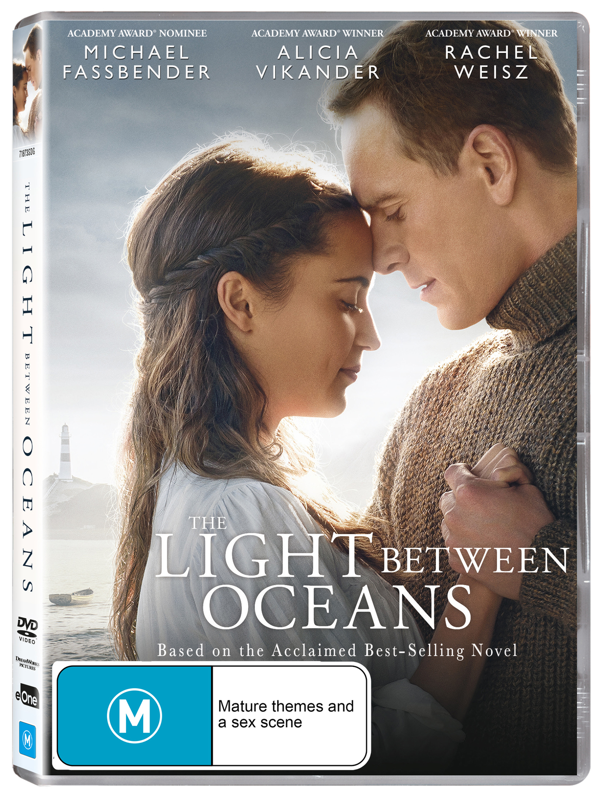 The Light Between Oceans on DVD image