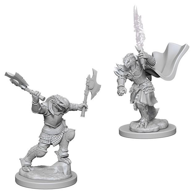 D&D Nolzur's Marvelous: Unpainted Miniatures - Dragonborn Female Fighter