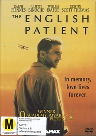 The English Patient on DVD