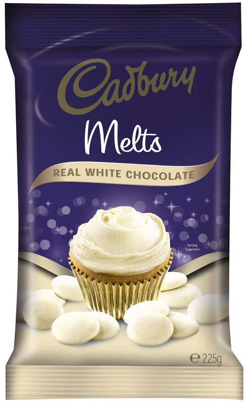 Cadbury White Chocolate Melts (225g)