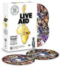 Live Aid Box Set on