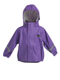 Mum 2 Mum Rainwear Jacket - Purple (4 years)