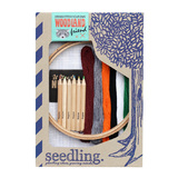 Seedling: Cross-stitch your own Woodland Friend