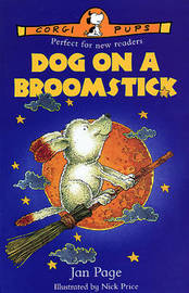 DOG ON A BROOMSTICK by Jan Page image