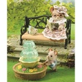 Sylvanian Families: Ornate Garden Bench & Fountain