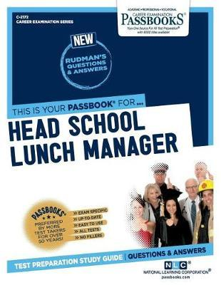 Head School Lunch Manager by National Learning Corporation