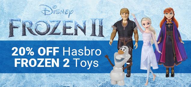 20% off Hasbro's Frozen 2 Toys!