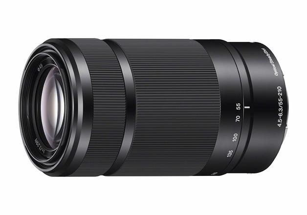 SONY E 55-210 mm f/4.5-6.3 OSS Telephoto Zoom Lens