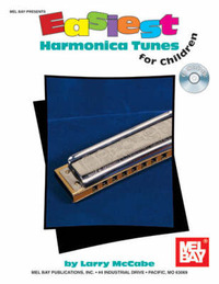 Easiest Harmonica Tunes for Children by Larry McCabe image