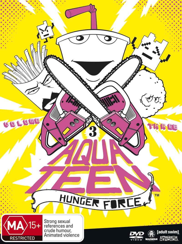 Aqua Teen Hunger Force - Volume 3 on DVD image