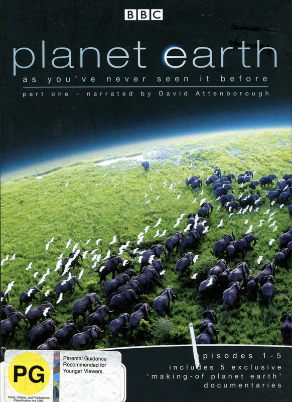 Planet Earth - Episodes 1-5 (Part 1) on DVD