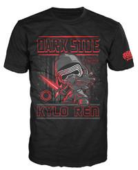 Star Wars - Kylo Ren Poster Pop! T-Shirt (L)