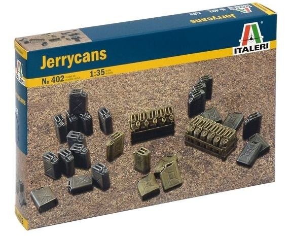 Italeri: 1:35 Jerry Cans - Model Accessories
