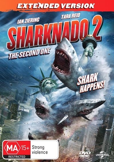 Sharknado 2: The Second One on DVD image