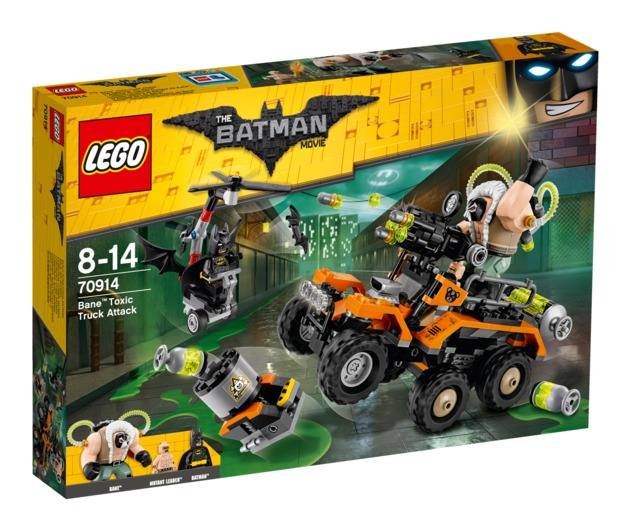 LEGO Batman Movie: Bane Toxic Truck Attack (70914)