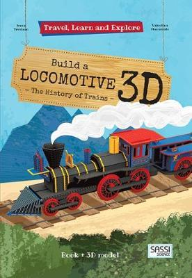 Sassi: Travel Learn and Explore 3D Puzzle - Locomotive by Valentina Manuzzato