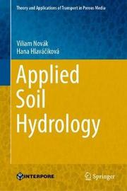 Applied Soil Hydrology by Viliam Novak