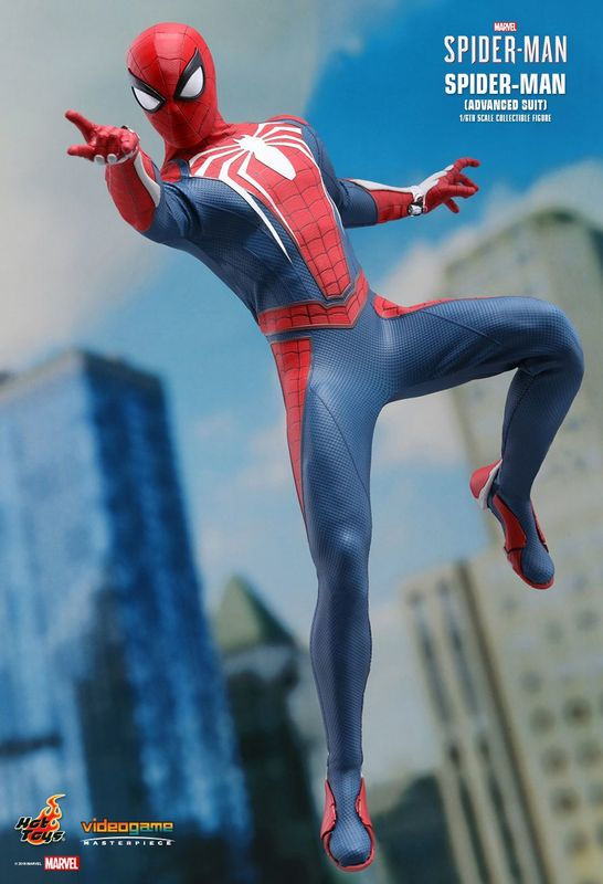"""Spider-Man (2018): Advanced Suit - 12"""" Articulated Figure"""