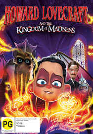 Howard Lovecraft & The Kingdom of Madness on DVD