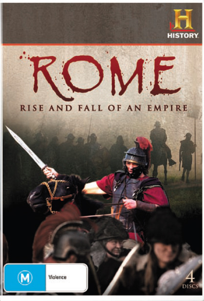 Rome: Rise and Fall of an Empire (4 Disc Set) on DVD