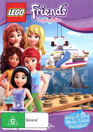 LEGO Friends Volume 3 - Dolphin Cruise on DVD