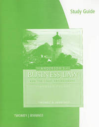 Anderson's Business Law and the Legal Environment by TWOMEY image