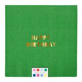 Meri Meri - Happy Birthday Large Napkins (16 Pack)