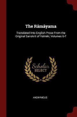 The Ramayama by * Anonymous