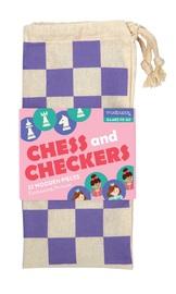 Mudpuppy: Enchanting Princess Chess & Checkers