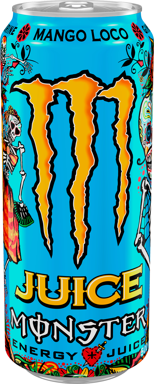 Monster Energy Juice Mango Loco 500ml (24 Pack) image