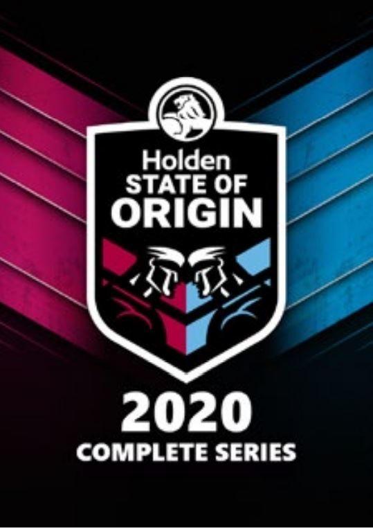 State Of Origin 2020 Series on DVD