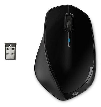 HP X4500 Wireless Mouse (Black)