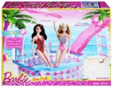 Barbie: Glam Pool! - Doll Playset