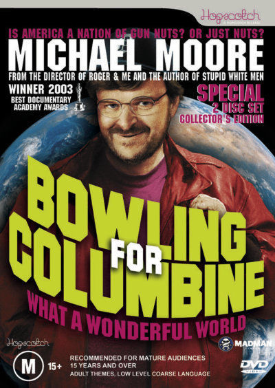 Bowling for Columbine on DVD image