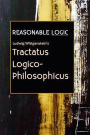 Reasonable Logic by Ludwig Wittgenstein