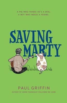 Saving Marty by Paul Griffin image