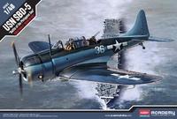 Academy 1/48 SBD-5 Battle Of Philipine Sea - Scale Model