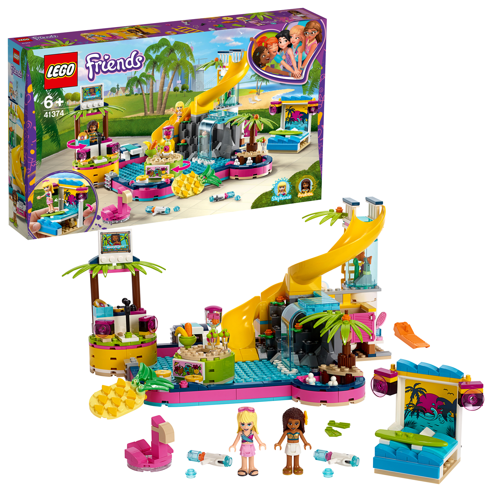 LEGO Friends: Andrea's Pool Party - (41374)