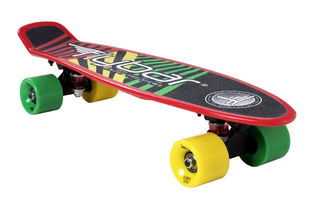 """Flybar: Grip Tape Cruiser - 22"""" Skateboard (Red Flag)"""