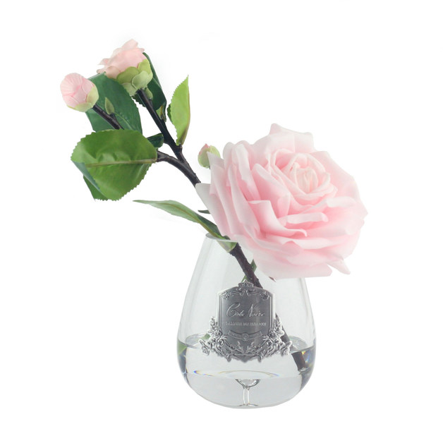 Cote Noire: Tea Rose Fragrance Diffuser - French Pink - Clear