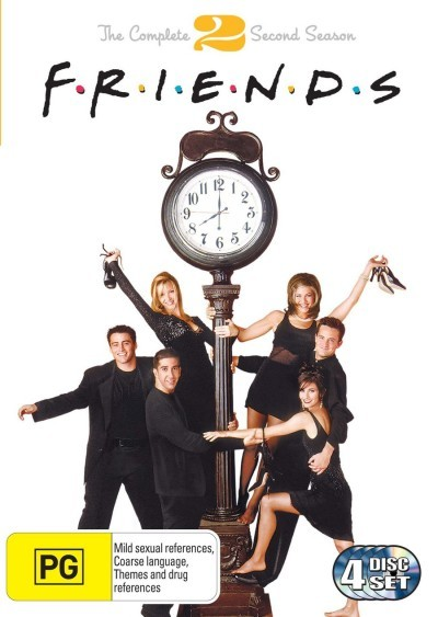 Friends - Season 2 on DVD