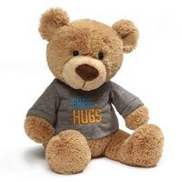Gund: Free Hugs T-Shirt - Bear Plush